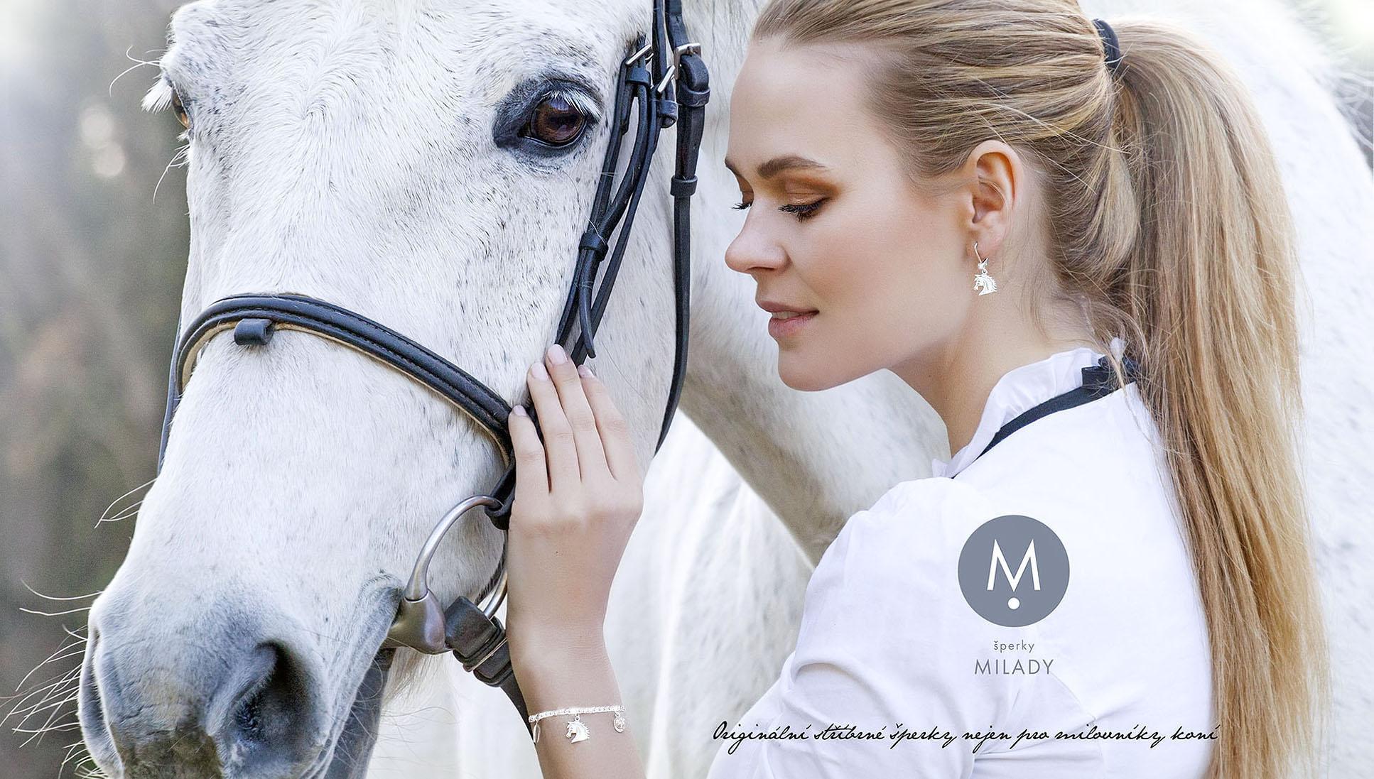 MILADY šperky, stříbrné šperky nejen pro milovníky koní